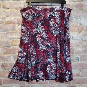 George polka dot pull on skirt size XXL 20